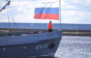 Rus su altı araştırma gemisindeki yangınla ilgili...