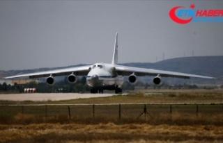 S-400 sevkiyatı kapsamında 13. uçak Mürted'e...
