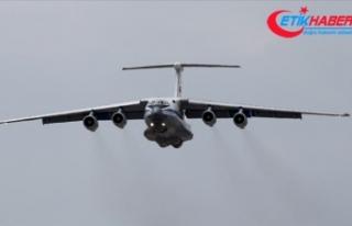 S-400 sevkiyatı kapsamında 15. uçak Mürted'e...