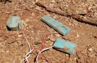 Siirt'te teröristlerin tuzakladığı 3 el yapımı...