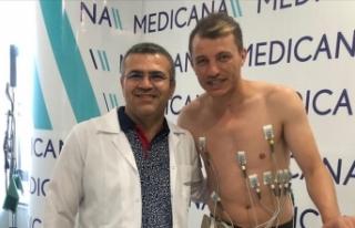 Sivasspor'da Ziya Erdal sağlık kontrolünden...