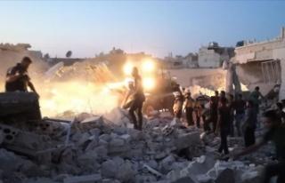 Suriyeli muhalifler İdlib'teki sivillerin korunması...