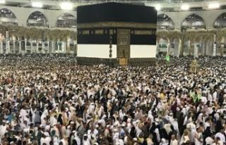 Türk hacı kafilelerinin tamamı Mekke'ye ulaştı