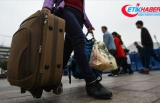 Türkiye'ye göç edenlerin sayısı arttı