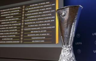 UEFA Avrupa Ligi'nde perde açılıyor