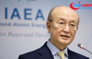 Uluslararası Atom Enerjisi Kurumu Başkanı Yukiya...
