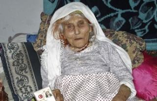 1915 doğumlu Durdu Nine uzun yaşamanın sırrını...