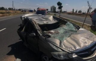 Aksaray'da trafik kazası: 7 yaralı!