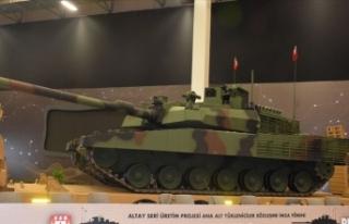 'Altay tankının önemli görev yükünü ASELSAN...
