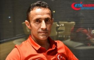 Ampute Milli Futbol Takımı Osman Çakmak'a...