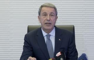 Milli Savunma Bakanı Akar: Müşterek kara devriyesinin...