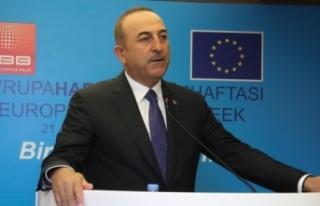 Bakan Çavuşoğlu: 'Biz AB'ye diyoruz ki...
