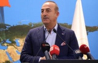 Bakan Çavuşoğlu: 'Güvenli bölge Münbiç...