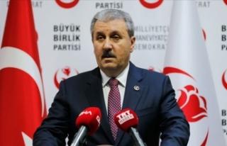 BBP Genel Başkanı Destici: Şehitlerimizin kanı...