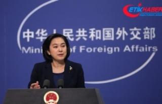 """Çin: """"ABD'nin Venezuela'nın iç işlerine..."""