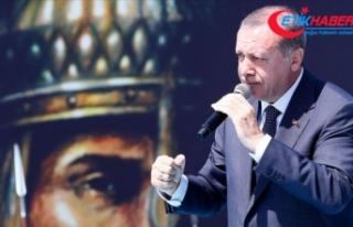 Cumhurbaşkanı Erdoğan: Oyalanmaya kalkılırsak...
