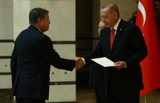 Cumhurbaşkanı Erdoğan, ABD Büyükelçisini kabul...