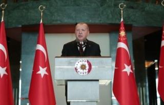 Cumhurbaşkanı Erdoğan: Fırat Kalkanı ve Zeytin...