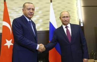 Cumhurbaşkanı Erdoğan ile Putin telefonda Suriye...