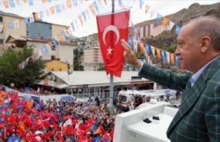 Cumhurbaşkanı Erdoğan: Türkiye'nin haklarını...