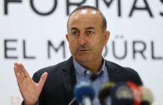 Dışişleri Bakanı Çavuşoğlu'ndan AB'ye...