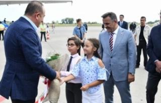 Dışişleri Bakanı Çavuşoğlu Samsun'da