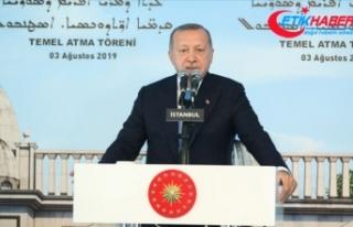 Erdoğan: Mazlumlar için kapılarımız da kalbimiz...
