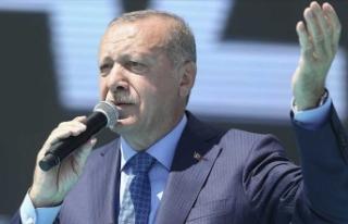 Erdoğan: Bize kefen biçenlerin heveslerini kursaklarında...