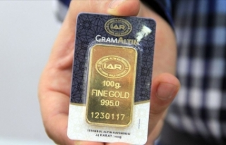 Gram altın 296 lira seviyelerinde