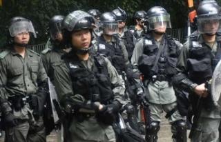 Hong Kong'da 4 günde 249 gözaltı