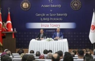 Hükümlü ve tutuklulara yönelik iş birliği protokolü...