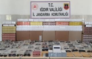 Iğdır'da kaçakçılık operasyonu: 5 gözaltı