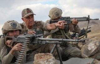 Jandarma Genel Komutanı Orgeneral Çetin: Dağlar...
