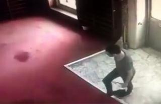 Kağıthane'de camiyi kundaklayan şahıs yakalandı