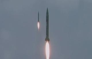 Kuzey Kore füze denemesini çoklu batarya ile yaptığını...
