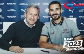 Manchester City, İlkay Gündoğan'ın sözleşmesini...