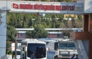 Mardin Büyükşehir Belediyesi HDP ve CHP heyetine...