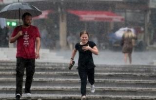 Meteoroloji'den kuvvetli yağış uyarısı! Bu...