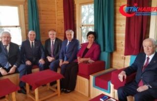 MHP lideri Bahçeli'den TASAV'a ziyaret