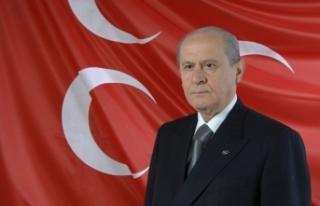 MHP Lideri Bahçeli: Kudüs ilk kıblemiz ve ortak...