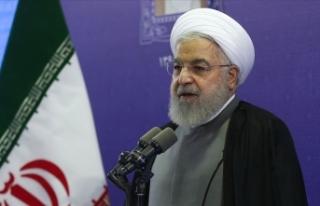 Ruhani'den ABD'ye müzakere çağrısı...