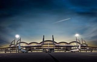 Sabiha Gökçen Havalimanı'nda ikinci pist çalışmaları...
