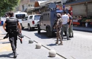 Şanlıurfa'da bombalı eylem hazırlığındaki...