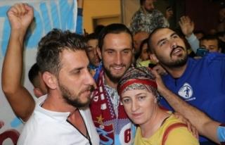 Trabzonsporlu Yazıcı transfer görüşmesi için...