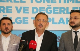 AK Parti'li Belediye Başkanları Afyonkarahisar'da...