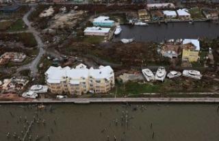 Bahamalar'ı vuran Dorian Kasırgası'nda...