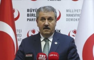 BBP Genel Başkanı Destici: Erdoğan'ın İsrail...