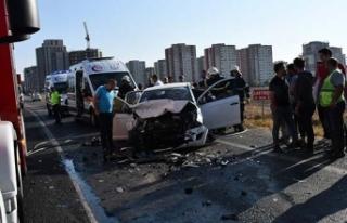 Çorlu'da kaza: 1 ölü, 3 yaralı