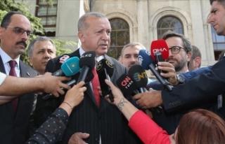 Cumhurbaşkanı Erdoğan: Mücadelemizi yılmadan...