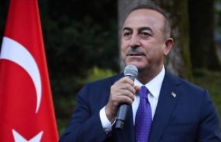 """Çavuşoğlu: """"Soydaşlarımızın haklarının..."""